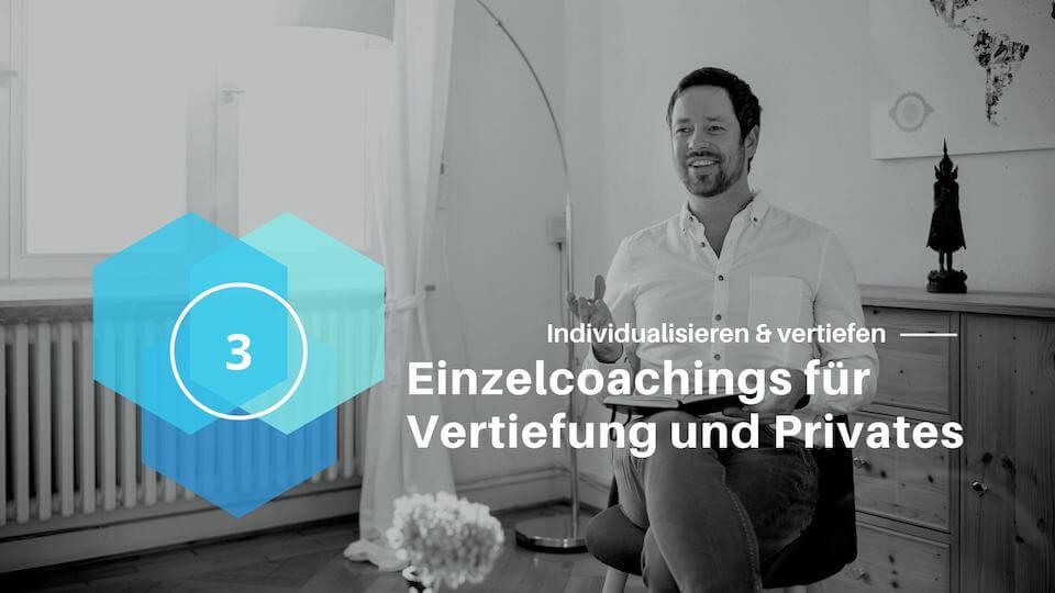 Einzel Coaching Portfolio Achtsamkeit im Unternehmen